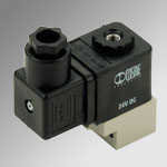 Solenoid valves series CNOMO