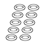 Electrical contact gasket kit multiple bases MACH16