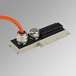 6 pos 24VDC Main prewired multiple conn. kit MACH16