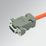 ACC. Connector D SUB 9 PIN + CABLE L=1m