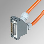 ACC.CONNECT. IP65+CABLE 44 +44 pin L=5 M