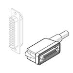 IP65 44-pin 90° conn., L 5 m