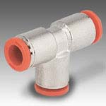 Automatic fittings inches tubes and NPT or UNF thread