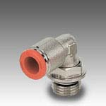 Rotary elbow, male, cylindrical R31