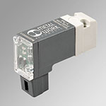 Plug in ø0.6-0.8W 24VDC LED complan. base/connect PLT-10