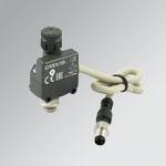 Pressure switch G1/8 2A NO/NC 2 M8 conn.
