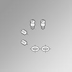 Kit guarnizioni basi multiple 3/2 Minimach