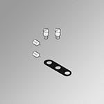 Gasket kit 5/2-5/3 multiple bases Minimach