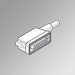 Conn. IP65 25 Poli 90° cavo UL robotics L = 1 m