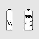 70 Mec. 1/8 ''3/2 sensitive push-rod NC