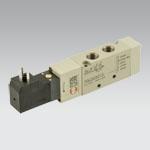 elpn 1/8'' 5/2 single sol.mec.spring 24VDC MACH16