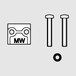 End plug-port 1 solenoid valves PIV.M 15 mm