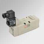 Valvole ISO 5599/1 elettropneumatiche serie ISV