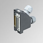 44+44 pin plug conn. KIT IP 65 I/O