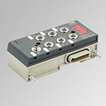Modulo 6 Output digitali M8 + alimentazione elettrica EB 80