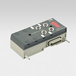 EB 80 module with 4 M8 analogue inputs for temperature measurement