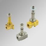 Solenoid valves, series EV-FLUID, direct acting