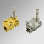 Solenoid valves, series EV-FLUID, servo-assisted action