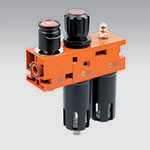 NEW DEAL Shut-off valve + Filter-regulator + Lubricator