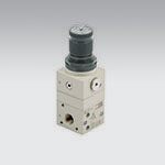 Precision pressure regulator with high exaust flow, series GS