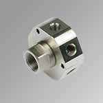 Rotary joint 3 multipleinlet 3/8 outlet 1/8
