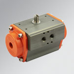 Rotary actuator series R4 double acting
