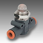 In-line pressure indicator LAM L