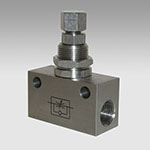 Stainless Steel in-line micro-flow-regulator series RFLX