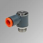 Male rod single rotary ring technopolymer R20