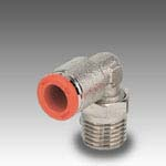 Rotary elbow, male, conical R31/C