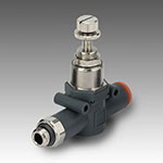 RML line mounted thread-pipe miniature reducer