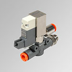 SOV L 3/2 NC-NO thread-pipe conveyed exhaust