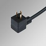Conn. 15 mm C shape cable 2 mt. DIN 43650