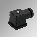 STD conn. black Coils side 30 mm