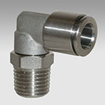 Rotary elbow, male, conical XR31/C